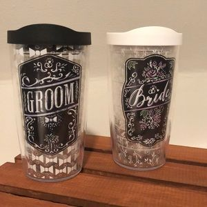 Tervis Bride and Groom Tumblers